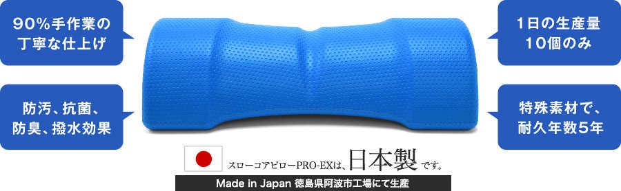 90%手作業の丁寧な仕上げ 防汚、抗菌、防臭、撥水効果 1日の生産量 特殊素材で、耐久年数10年 日本製